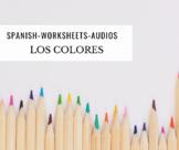 Los colores - Spanish