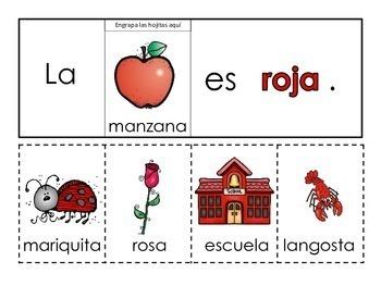 Los colores Spanish colors flip books