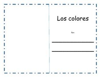 Los colores / The colors Book