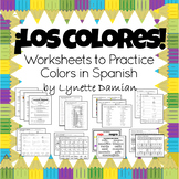 ¡Los colores! Worksheets to Practice Colors in Spanish