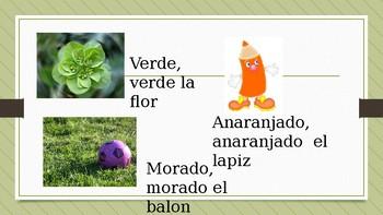 Los colores en espanol