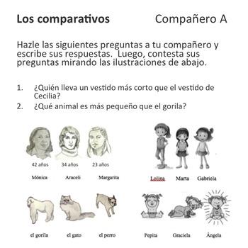 Los comparativos y el superlativo Lesson Plans and Curriculum