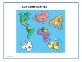 Los continentes Power Point