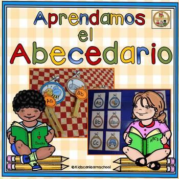 Estación de Trabajo para aprender el abecedario