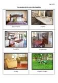 Los cuartos de la casa Spanish Rooms Of The House 29 Page Practice Booklet