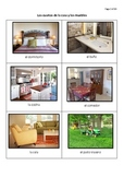 Los cuartos de la casa Spanish Rooms Of The House 29 Page
