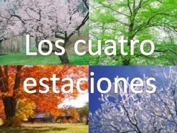Los cuatro estaciones - Spanish Seasons Game Visuals