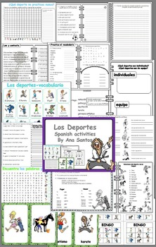 Los deportes -Spanish activities