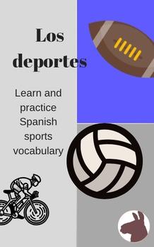 Los deportes (vocabulario y preguntas)-Sports vocabulary and questions - Spanish
