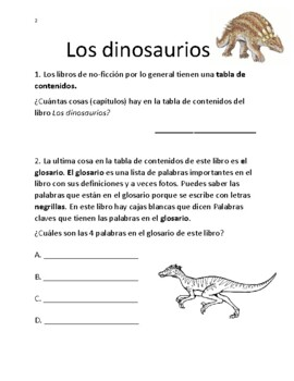 Los Dinosaurios Libro De No Ficcion National Geographic Kids Tpt This adorable handprint dinosaur was made by my little guy in his preschool class. teachers pay teachers