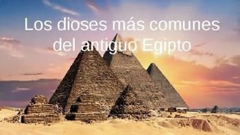 Los dioses del Egipto antiguo