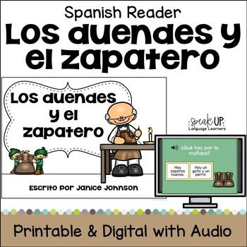 Los duendes y el zapatero Spanish Elves & the Shoemaker Simplified Reader