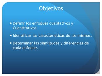 Los enfoques cuantitativos y cualitativos en la investigación científica