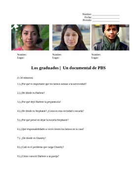 Los graduados |  The Graduates Questions PBS Documentary
