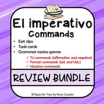 Los mandatos Commands BUNDLE