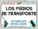 Los medios de transporte Flyswatter game