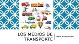 Los medios de transporte-Modes of Transportation Presentation