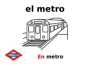 Los medios de transporte & ir + a + place.