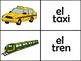 Los medios de transporte memory game