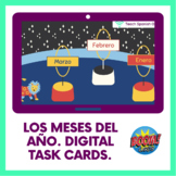 Los meses del año/Days of the week in Spanish. Boom Cards™ Distance Learning