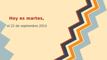 Los meses del ano / Spanish Months of the Year