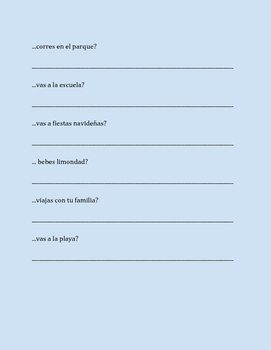 Los meses ¿en cuál mes? - In which month? - Spanish