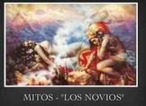 Los mitos - Latin-American myths and Irregular verbs in preterit tense week unit