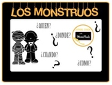 "Halloween Spanish-Los monstruos ""the monsters"""