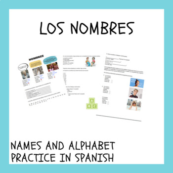 Los nombres / names in Spanish