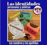AP Spanish Los nombres y los apellidos: Las identidades pe