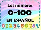 Los numeros 0-100 - Numbers ins spanish