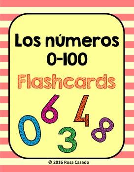 Los numeros 0-100 flashcards