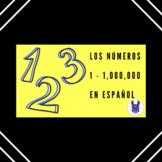 Los números 1-1,000 - The numbers 1-1,000 in Spanish
