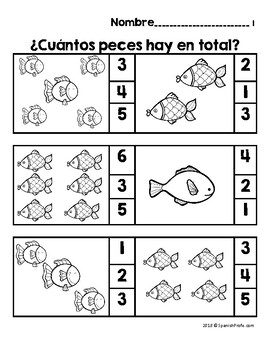 Los números 1-10 (Spanish Numbers 0 to 10 Fluency)