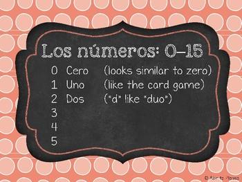 Los números / Numbers Bundle