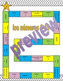 Los numeros - Spanish numbers 0-15 Board game (Includes 3 activities!)