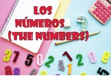 Los números (The numbers) Spanish Vocabulary