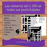 Los números del 1-100 (all possible variations)