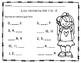Los números del 1 al 12 - Hojas de Tarea