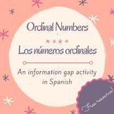 Los números ordinales / Activity to practice ordinal numbers in Spanish
