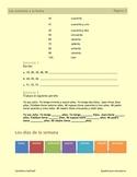 Los números y la fecha (días, meses y estaciones también)