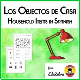Household items in Spanish - Los objectos de casa - Activity Pack