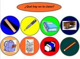 Los objetos de la clase y sus descripciones.