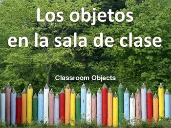 Los objetos en la sala de clase - Classroom Objects