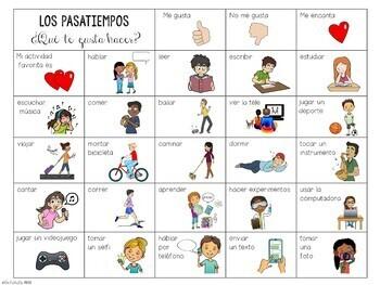 Los pasatiempos / Spanish Pastimes Board Games