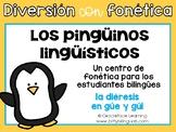 Spanish Phonics Center for diaeresis - Centro de fonética