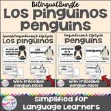 Los pingüinos /el ciclo de vida ~ Penguin Reader & Life Cycle Reader {Bilingual}