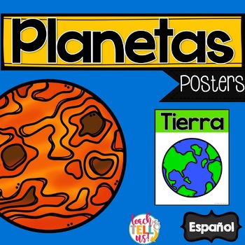 Los planetas - Planets Spanish