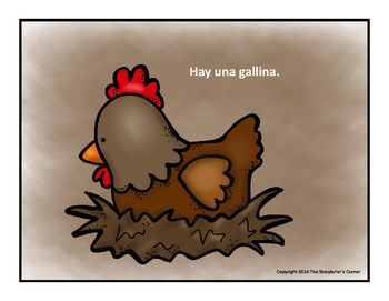 Los pollitos dicen - Picture Story and Resources