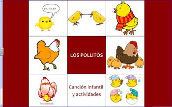 Los pollitos - song and activities
